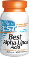 Doctor's Best Alpha Lipoic Acid 150mg 120 Capsules