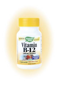 Nature's Way Vitamin B12 100 Lozenges 2 mg (2,000 mcg) per lozenge