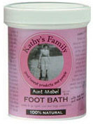 Kathy's Family 100% Organic Foot Bath 8 oz.