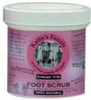 Kathy's Family 100% Organic Foot Scrub 7.5 oz.