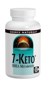 Source Naturals 7-Keto  DHEA Metabolite 60 Tablets
