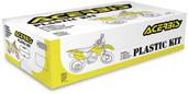 Acerbis Full Plastic Kit Black Ktm 2320850001