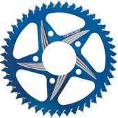 Vortex Cat5 Rear Aluminum Sprocket Blue 46t 452AZB-46