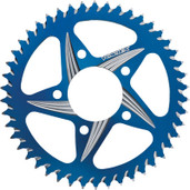 Vortex Cat5 Rear Aluminum Sprocket Blue 44t 526AZB-44