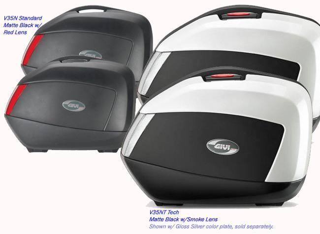 a624ec44 Givi V35 Monokey Sidecase Pair Compatible w/ PLX & PLXR Tubular ...