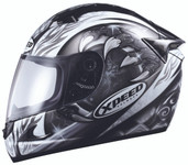 Xpeed Helmets XF708 Eclipse