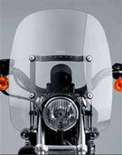 """National Cycle Spartan 16.25"""" Windshield"""