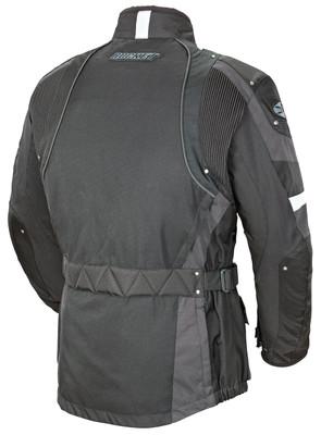 Black NWT Joe Rocket Ballistic Revolution Waterproof Motorcycle Touring Jacket