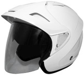 Cyber U-378 Solid Helmet Md White 640489