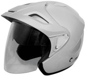 Cyber U-378 Solid Helmet Sm Silver 640494