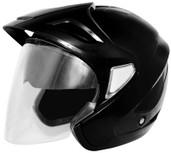 Cyber U-378 Solid Helmet XS Black 640481