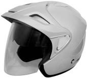 Cyber U-378 Solid Helmet XS Silver 640493
