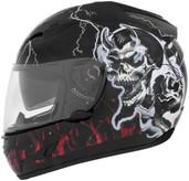 Cyber US-97 Good N Evil Helmet Md Good N Evil Red 640782