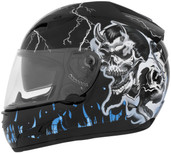 Cyber US-97 Good N Evil Helmet Sm Good N Evil Blue 640771