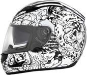 Cyber US-97 Sharpie Graphics Helmet XS White 641050