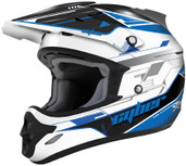 Cyber UX-25 Graphics Helmet 2XL Blue 640625