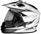 Cyber UX-32 Graphics Helmet Md White/Black 640972