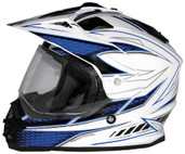 Cyber UX-32 Graphics Helmet XS White/Blue 640990