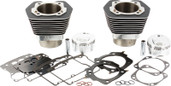 Delkron Cylinder Kit Black  103  W/3.937  Piston D3205