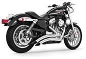 Freedom Performance Exhaust Sharp Curve Radius Chrome