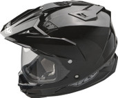 Fly Racing Trekker Dual Sport Helmet 2XL Black TREKKER BLK 2X