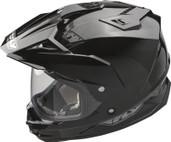 Fly Racing Trekker Dual Sport Helmet Lg Black TREKKER BLK L