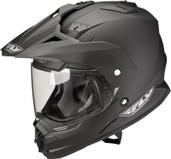 Fly Racing Trekker Dual Sport Helmet Lg Matte Black TREKKER MATTE BK L