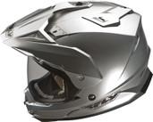 Fly Racing Trekker Dual Sport Helmet Md Silver TREKKER SILVER M