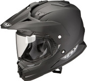 Fly Racing Trekker Dual Sport Helmet Sm Matte Black TREKKER MATTE BK S