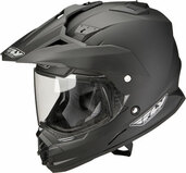 Fly Racing Trekker Dual Sport Helmet XL Matte Black TREKKER MATTE BK X