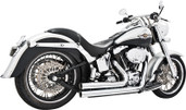 Freedom Independence Shorty Exhaust System  Chrome  HD00033
