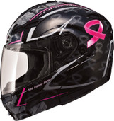 GMAX GM 54S Pink Ribbon Modular Helmet Md Pink Ribbon G1545405 TC-14