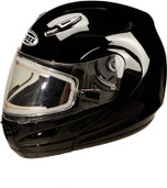 GMAX GM44S Modular Helmet with Electric Shield Md Black G6244115