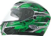 GMAX GM54S Modular Snow Helmet Multi Color XS Green 2541223  TC-3
