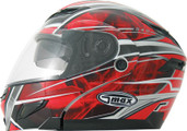 GMAX GM54S Modular Snow Helmet Multi Color XS Red 2541203  TC-1