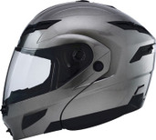GMAX GM54S Modular Street Helmet Lg Silver 1540476