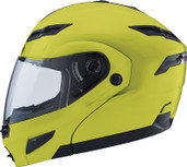 GMAX GM54S Modular Street Helmet Md Hi Viz G1540605