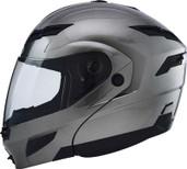 GMAX GM54S Modular Street Helmet Md Silver 1540475