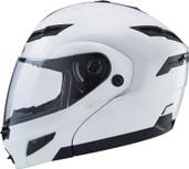 GMAX GM54S Modular Street Helmet Md White 1540085