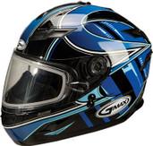 GMAX GM78S Blizzard Snow Helmet Lg Blue G6781216 TC-2