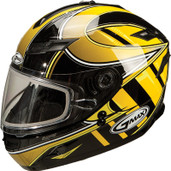 GMAX GM78S Blizzard Snow Helmet Lg Yellow G6781236 TC-4