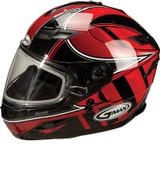 GMAX GM78S Blizzard Snow Helmet Md Red G6781205 TC-1