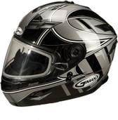 GMAX GM78S Blizzard Snow Helmet Md Silver G6781245 TC-5