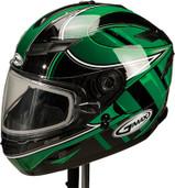 GMAX GM78S Blizzard Snow Helmet XL Green G6781227 TC-3