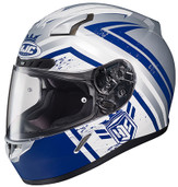 HJC CL-17 Mech Hunter Helmet LRG Blue 836-824
