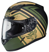 HJC CL-17 Mech Hunter Helmet XSM Green 836-841