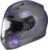 HJC CL-17 Mystic Helmets LRG Purple 830-994