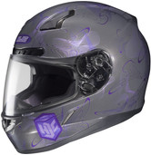 HJC CL-17 Mystic Helmets MED Purple 830-993