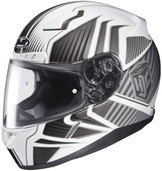 HJC CL-17 Redline Helmets 3XL Black White 828-907