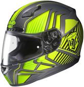 HJC CL-17 Redline Helmets MED HI Viz Yellow 828-933
